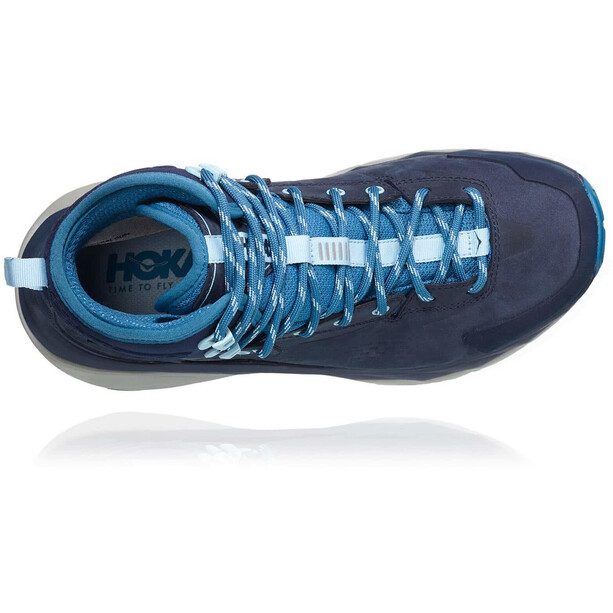 Hoka One One Kaha GTX Running Shoes Women black iris/blue sapphire