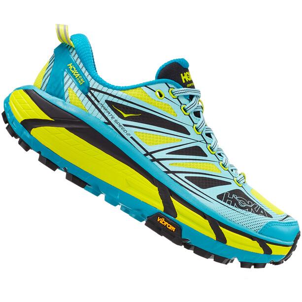 Hoka One One Mafate Speed 2 Running Shoes Women capri breeze/evening primrose