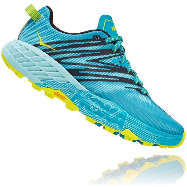 Hoka One One Speedgoat 4 Running Shoes Women capri breeze/angel blue