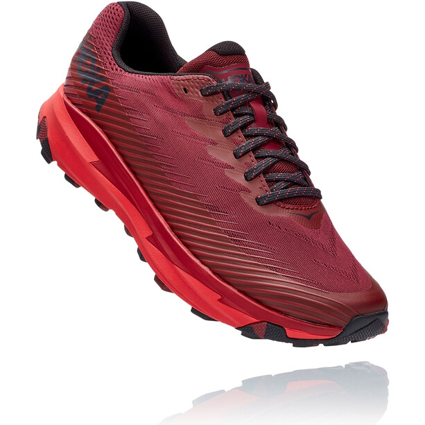 Hoka One One Torrent 2 Running Shoes Men cordovan/high risk red
