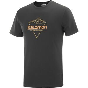 Salomon Blend Logo SS Tee Men black black