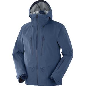 Salomon Outpeak 3L Shell Jacket Men dark denim dark denim