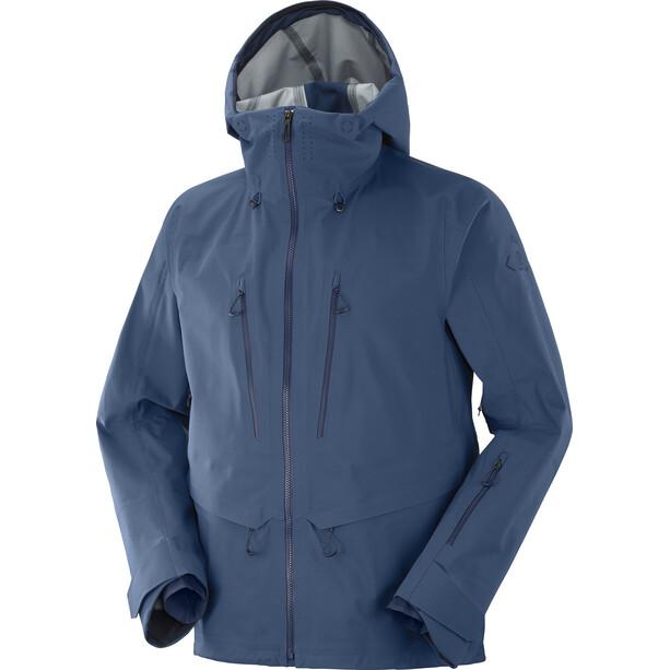 Salomon Outpeak 3L Shell Jacket Men dark denim