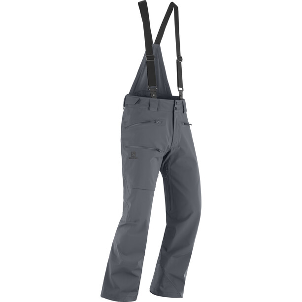 Salomon Outlaw 3L Shell Pants Men ebony