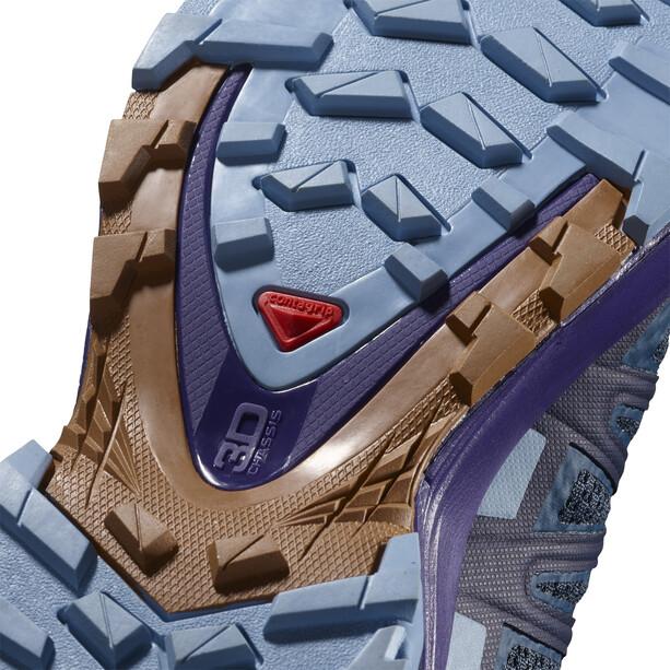 Salomon XA Pro 3D v8 Shoes Women poseidon/violet indigo/forever blue