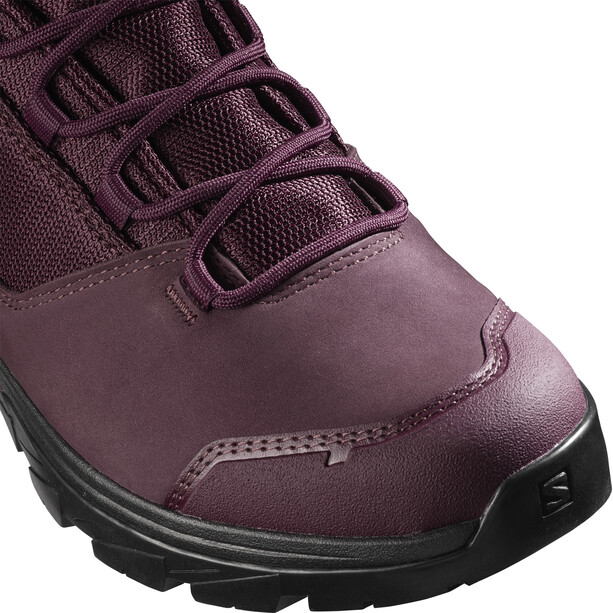 Salomon Outward GTX Shoes Women wine tasting/black/quail