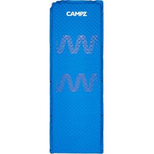 CAMPZ Self-Inflating Mat 5.0 M, bleu bleu