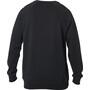 Fox Apex Rundhals Fleece Pullover Herren black/white