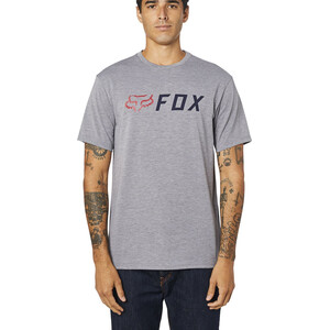 Fox Apex SS Tech Tee Men heather graphite heather graphite
