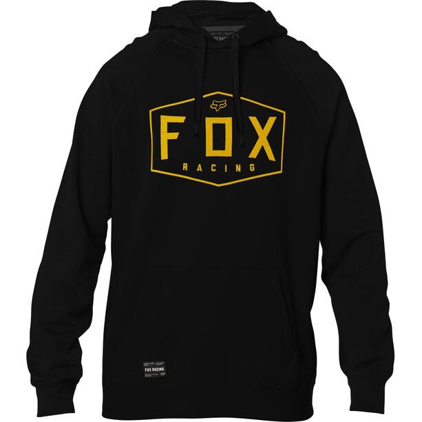 Fox Crest Fleece Pullover Herren black