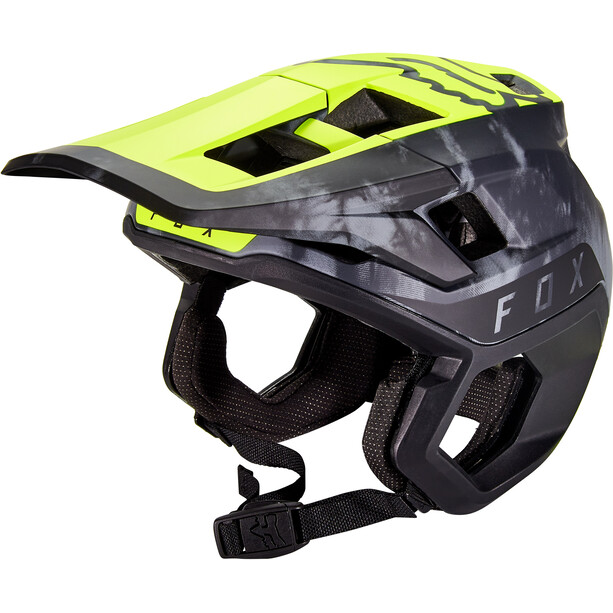 Fox Dropframe Pro ELV Helmet Men day glow yellow