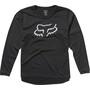 Fox Ranger Langarm Trikot Jugend black