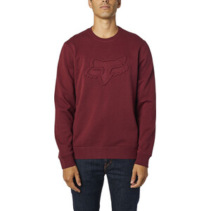 Fox Refract DWR Crew Fleece Pullover Men cranberry cranberry