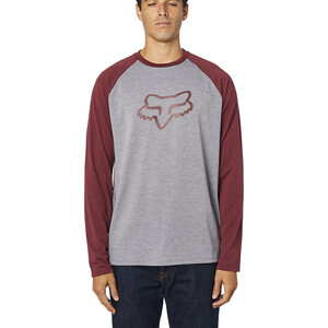 Fox Tournament LS Tech Tee Men heather graphite heather graphite
