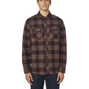 Fox Traildust 2.0 LS Flannel Top Men brun brun