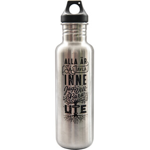 addnature V2 Stainless Steel Bottle 800ml silver silver