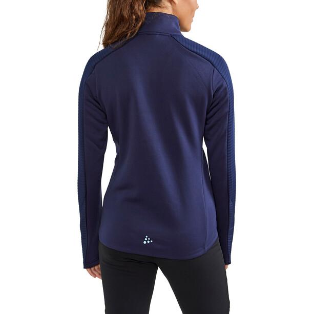 Craft ADV Tech Full-Zip Midlayer Damen blau