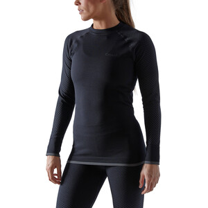 Craft ADV Warm Fuseknit Intensity LS Top Women black black