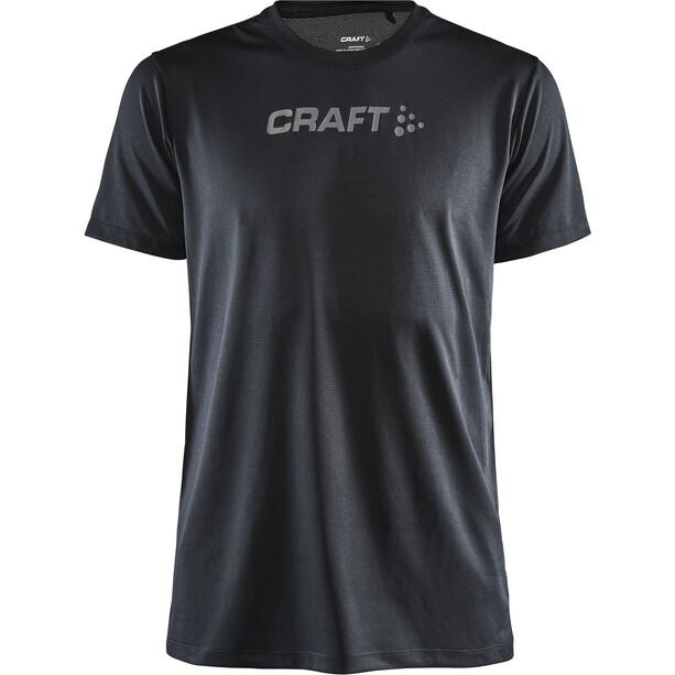 Craft Core Essence Kurzarm Mesh T-Shirt Herren black