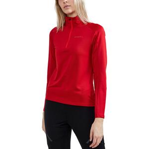 Craft Core Gain Midlayer Damen bright red bright red