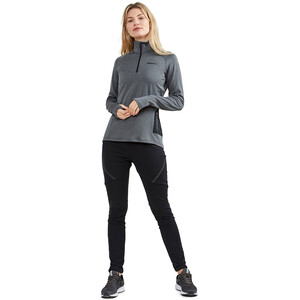 Craft Core Trim Thermo Midlayer Damen dark grey melange dark grey melange