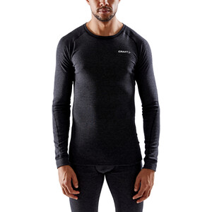 Craft Core Wool Merino Baselayer Set Herren black melange black melange