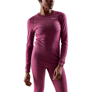 Craft Core Wool Merino Baselayer Set Damen fame melange fame melange
