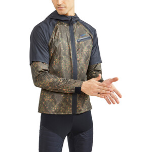 Craft Lumen Hydro Jacket Men brun/svart brun/svart