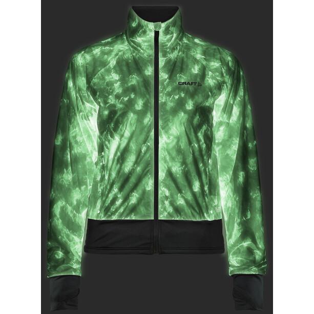 Craft Pro Glow In The Dark Lumen Jacke Damen print nova/black