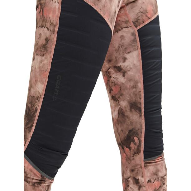 Craft SubZ Gepolsterte Hose Damen beige/pink