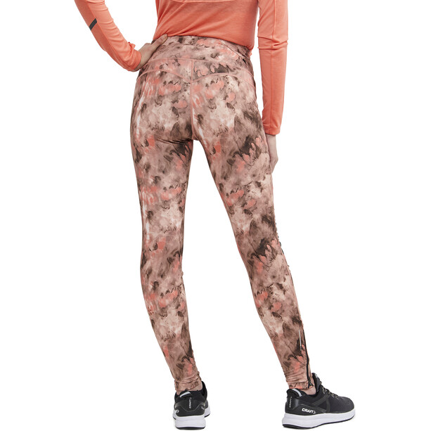 Craft SubZ Polstrede tights Damer, print nova/buff
