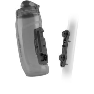 Fidlock Twist Bottle 590 inkl. Base Fahrrad-Befestigung transparent/schwarz transparent/schwarz