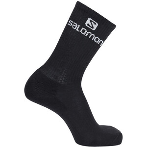 Salomon Crew Socken 3 Pack white/black/grey melange white/black/grey melange
