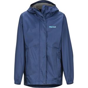 Marmot PreCip Plus Jacket Girls, bleu bleu