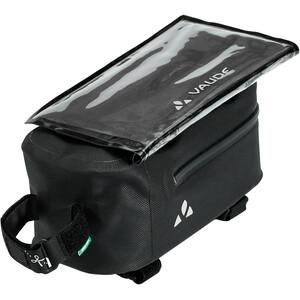VAUDE Carbo Guide Sacoche De Cadre Avec Protection Détachable Pour Smartphone, noir noir