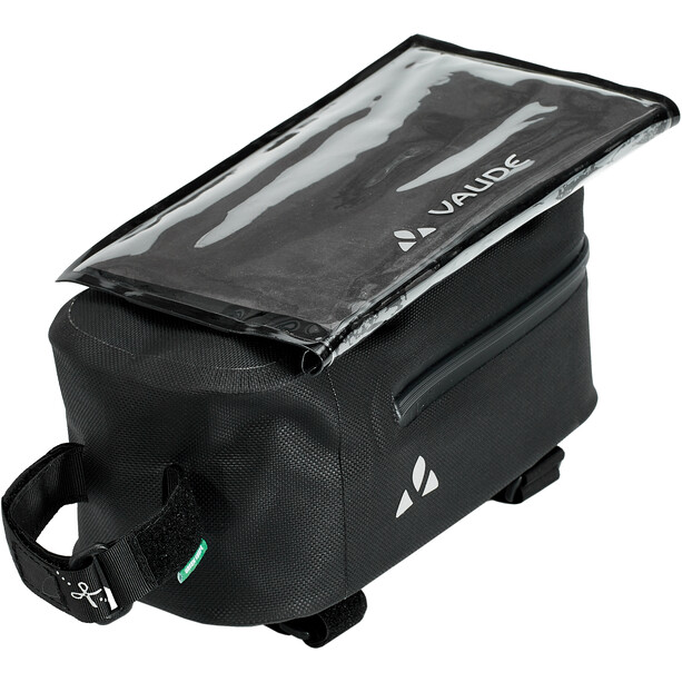 VAUDE Carbo Guide Rahmentasche mit abnehmbarer Hülle für Smartphones black