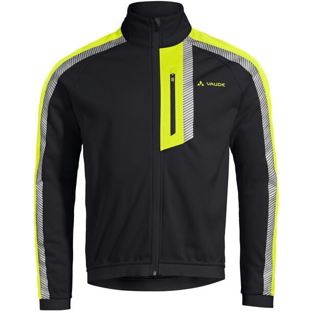 VAUDE Luminum II Softshell Jacke Herren black/yellow