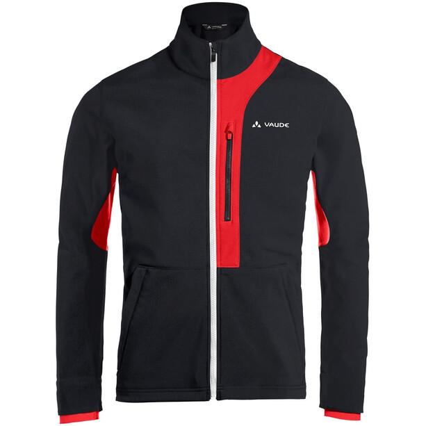 VAUDE Virt Softshell Jacke Herren black/red black/red