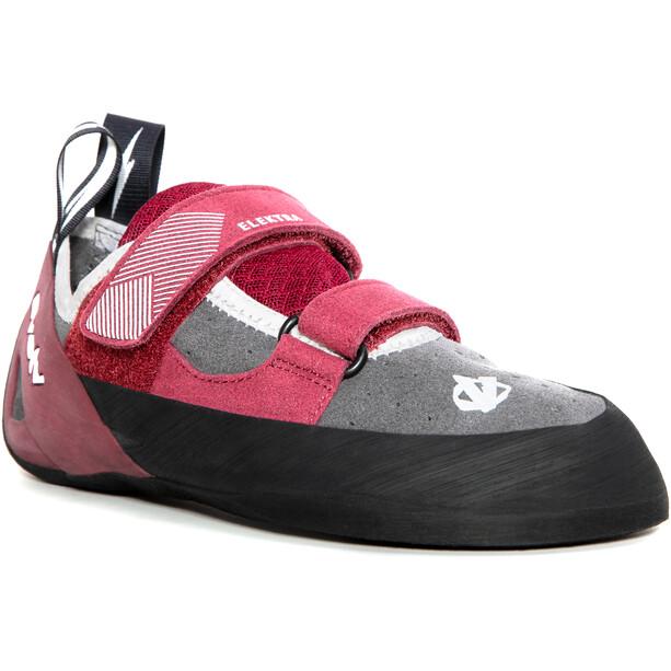 Evolv Elektra Kletterschuhe Damen grau/pink