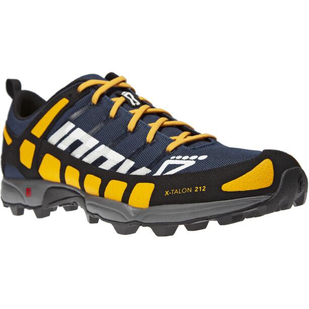 inov-8 X-Talon 212 Shoes Men navy/yellow