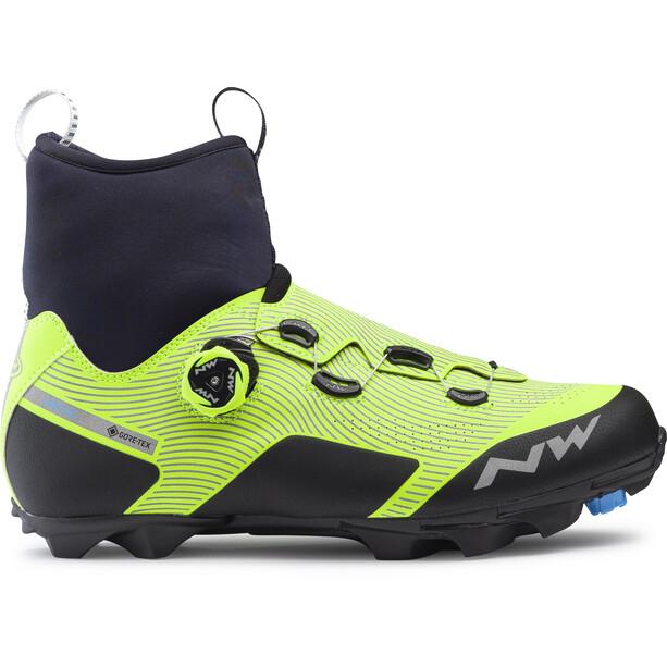Northwave Celsius XC Arctic GTX MTB Schuhe Herren reflective/yellow fluo