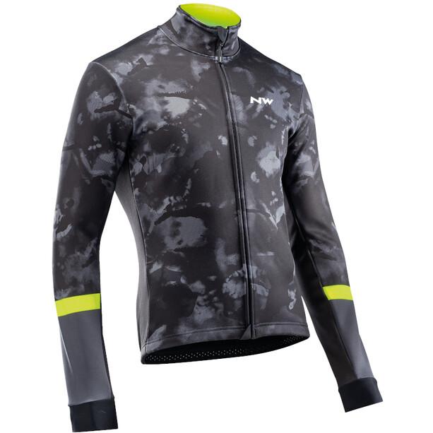 Northwave Blade Jacket Men camo black/yellow fluo