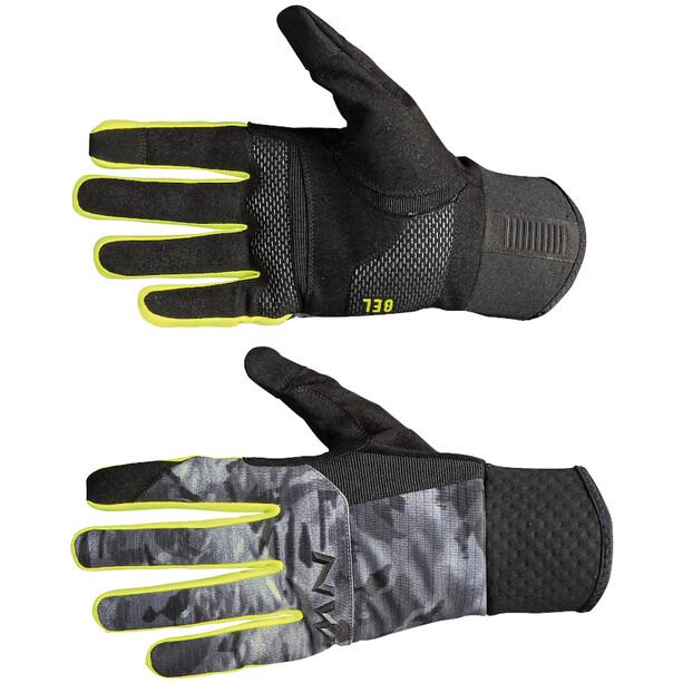 Northwave Power 3 Handschuhe Herren camo black/yellow fluo