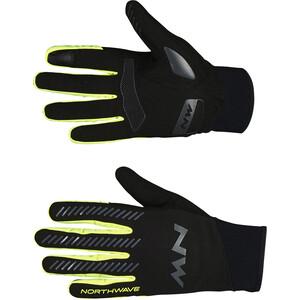 Northwave Core Vollfinger-Handschuhe Herren black/yellow fluo black/yellow fluo