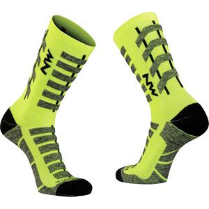Northwave Husky Ceramic Tech High Sock Men yellow fluo yellow fluo