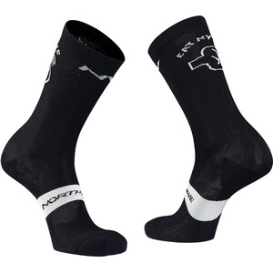 Northwave Eat My Dust High-Cut Wollsocken Herren black black