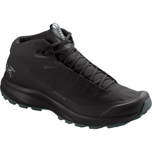 Arc'teryx Aerios FL Mid GTX Shoes Men black/cinder black/cinder