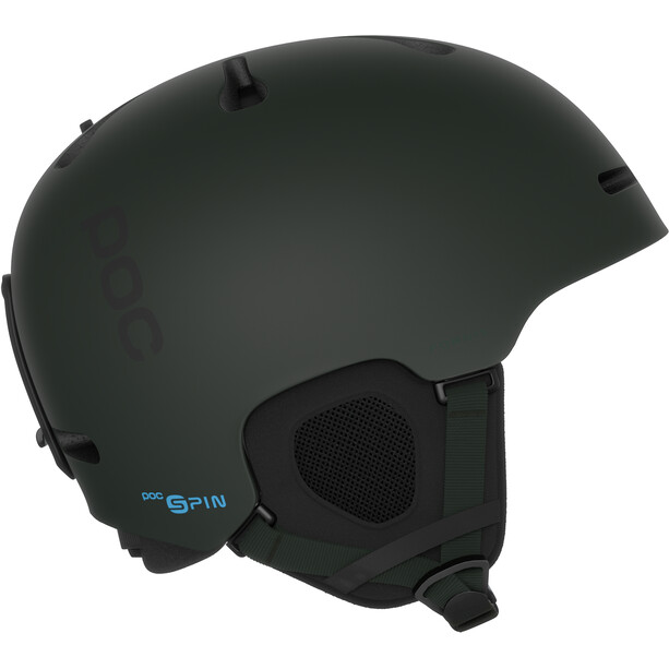 POC Fornix SPIN POW Jeremy Jones Edition Helmet deep depths green