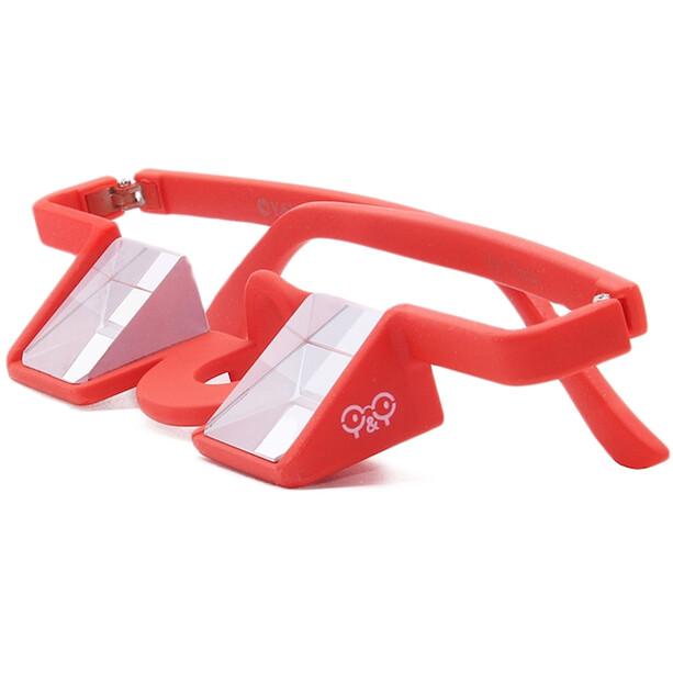 YY VERTICAL Plasfun Sicherungsbrille rot