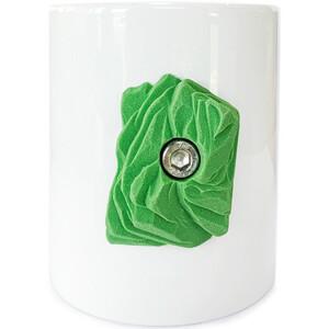 YY VERTICAL Kletterbecher weiß/grün weiß/grün